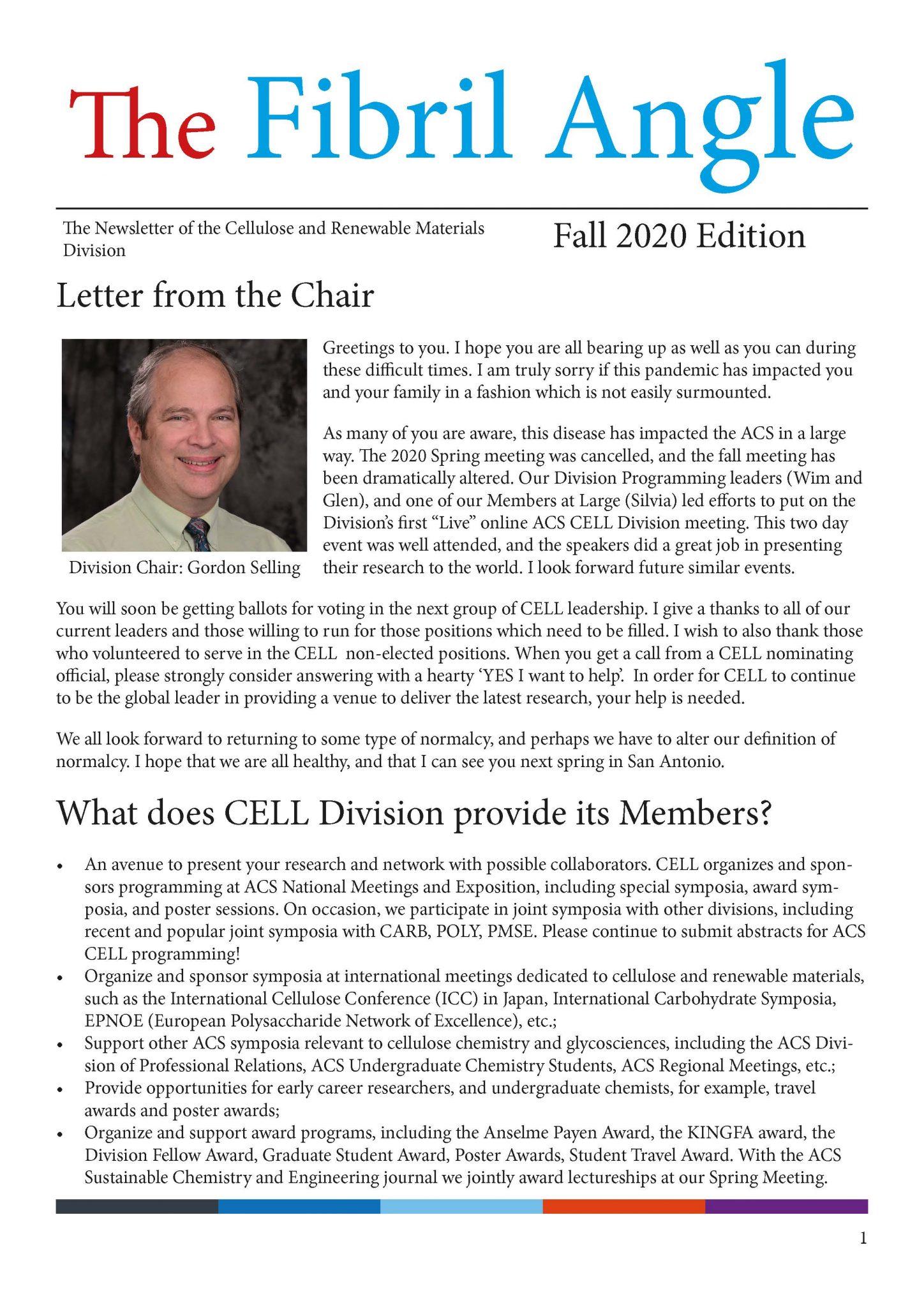 TFA Fall 2020 main page